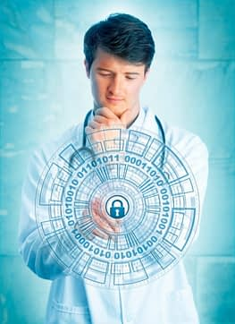 healthcare cybersecurity image